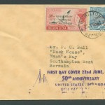 1956 50th Anniversary Ocean Race FDC