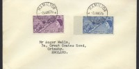 1957 Queen Elizabeth II definitives 3d and 1/3 FDC