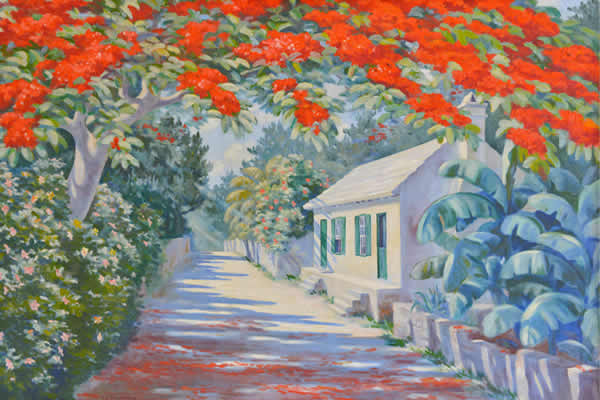 1951 Royal Poinciana by RH Outerbridge