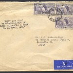 1958 9d definitive Air Mail FDC