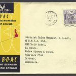 1958 BOAC First Flight London to Caracas FF