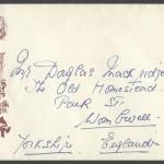 1959 Bermuda 350th Anniversary 6d x 3 FDC