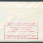 1959 Bermuda 350th Anniversary rev FDC
