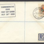 1959 350th Anniversary of Bermuda 1sch 3d FDC