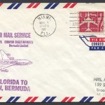 1962 First Jet Air Mail Service Miami to Bermuda FF