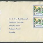 1962 Buildings of Bermuda 1sh block 4 FDC