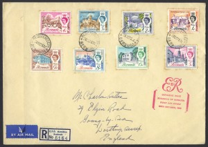 1962 Buildings of Bermuda Registered FDC