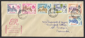 1962 Buildings of Bermuda FDC