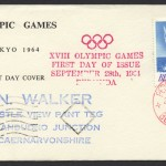 1964 XVII Olympic Games Tokyo Japan FDC