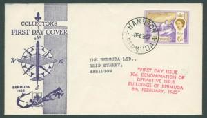 1965 Buidlings of Bermuda 10d FDC