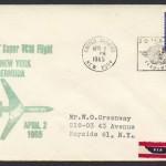 1965 First BOAC Super VC10 Flight UN New York to Bermuda FF