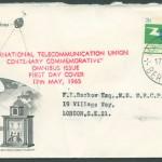 1965 ITU Centenary Omnibus Issue FDC