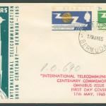 1965 International Telecommunication Union Centenary FDC
