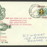1965 Fifty Years of Scouting 2/- Southampton FDC