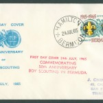 1965 Fifty Years of Scouting 2/- FDC