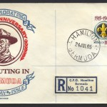 1965 Fifty Years of Scouting 2/- Reg FDC