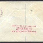 1965 Fifty Years of Scouting 2/- Reg rev FDC