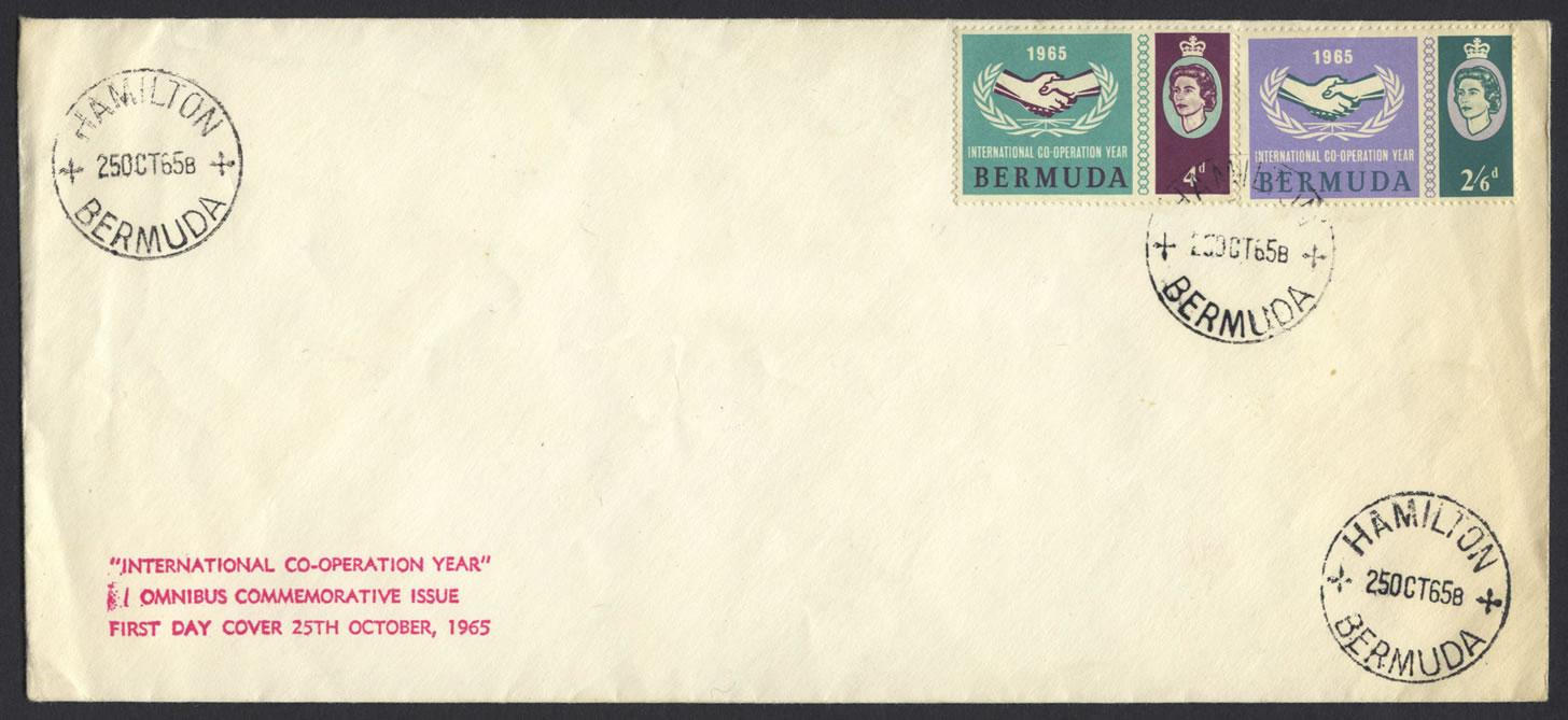 1965 International Co-operation Year omnibus FDC