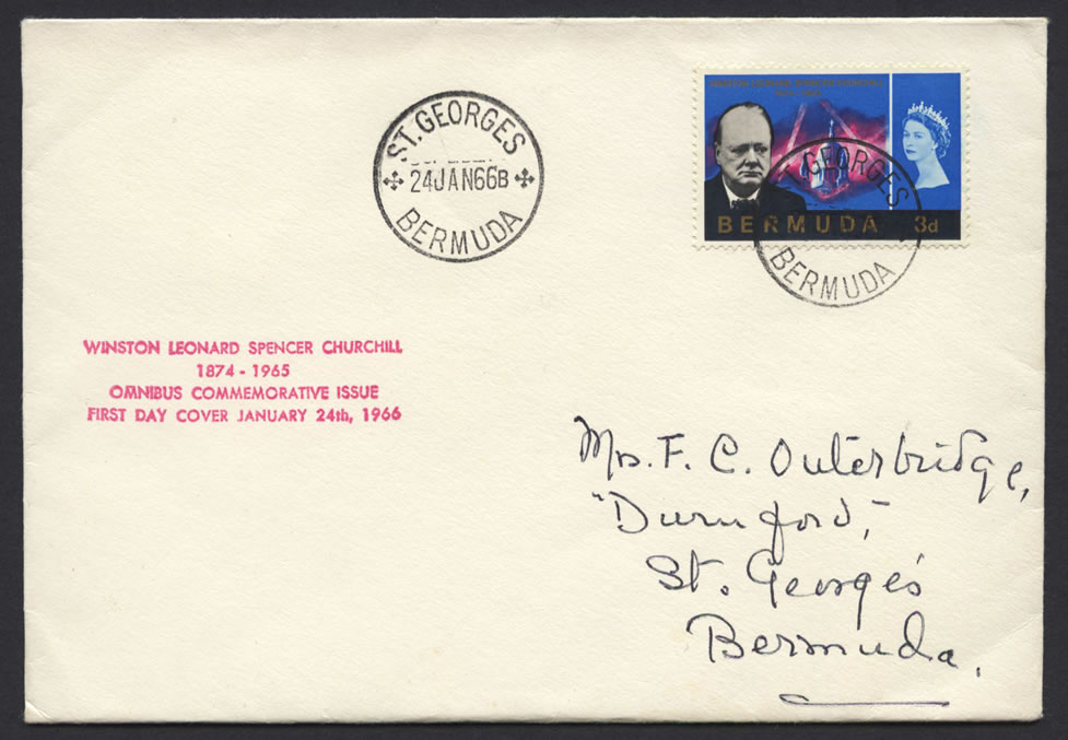 1966 Winston Churchill Commemoration FDC