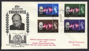 1966 Winston Churchill Commemoration FDC