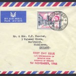 1966 1/6 Denomination of Definitive Issue FDC