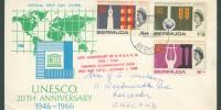 1966 20th Anniversary UNESCO FDC