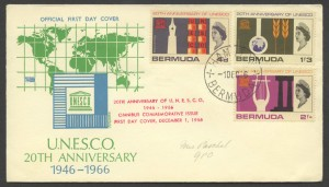 1966 20th Anniversary UNESCO FDC
