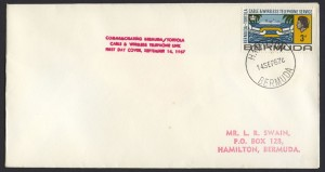 1967 Opening of the New Post Office 3d FDC