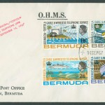 1967 Cable & Wireless Telephone Service OHMS FDC