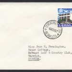 1967 Devonshire South CDS New Post Office 3d cover