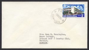 1967 Paget CDS New Post Office 3d cover
