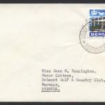 1967 Somerset Bridge CDS New Post Office 3d cover