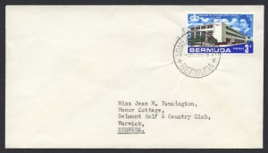 1967 Somerset Bridge CDS New Post Office 3d cover