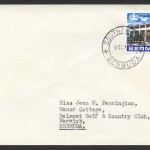 1967 Southampton CDS New Post Office 3d cover