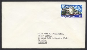 1967 St George's CDS New Post Office 3d cover