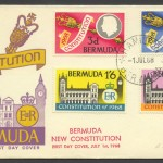 1968 Bermuda New Constitution FDC
