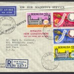 1968 New Constitution Registered OHMS FDC