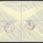 1968 New Constitution reverse Registered OHMS FDC