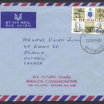 1968 XIX Olympic Games Mexico 1sch6 Air Mail FDC