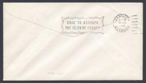 1969 First Flight Boston to Bermuda Northeast Airlines reverse FF
