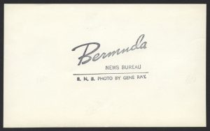 1970 Bermuda Buildings Decimal Overprint Press Release Photo