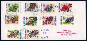 1970 Flower Definitives First Day Cover