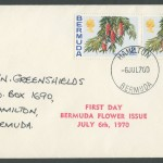 1970 Bermuda Flower Issue FDC