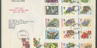 1970 Bermuda Flower Issue Set FDC