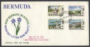 1971 Keep Bermuda Beautiful FDC