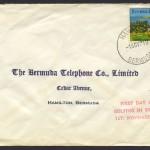 1971 Golfing in Bermuda 4c FDC