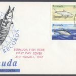 1972 World Fishing Records Mangrove Bay FDC