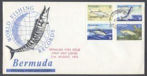 1972 World Fishing Records Mangrove Bay FDC