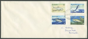 1972 World Fishing Records Plain FDC