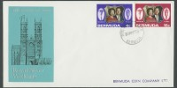 1972 Royal Silver Wedding FDC
